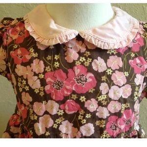 Beautiful Gymboree PRIMROSE Floral Dress 3T EUC